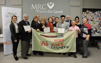 La MRC de Pierre-De Saurel, une municipalité alliée contre la violence conjugale