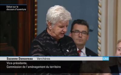 La députée de Verchères, Suzanne Dansereau, souligne les Journées de la persévérance scolaire