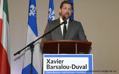 Nouvelle session parlementaire: la levée des tarifs, la sécurité ferroviaire et la construction du port sont les priorités de Xavier Barsalou-Duval