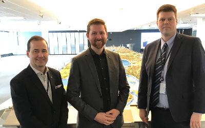 Terminal à conteneurs: Xavier Barsalou-Duval rencontre les responsables du Port de Montréal à Contrecœur
