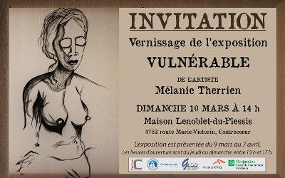 Maison Lenoblet-du-Plessis: Exposition « Vulnérable »