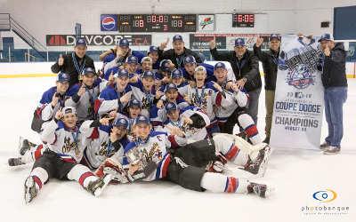 ArcelorMittal Produits longs Canada contribue à la santé et à la sécurité des joueurs de la Coupe Dodge masculine de hockey 2019