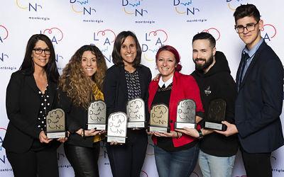 Concours LADN Montérégie 2019: deux entreprises parrainées par la MRC de Marguerite-D'Youville se démarquent!