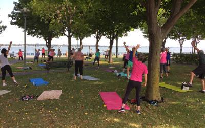 MRC de Pierre-De Saurel: Aînés actifs de retour dans les parcs de la région!