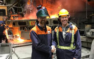Industrie de l'acier: Xavier Barsalou-Duval demande des mesures de sauvegarde définitives pour l'acier
