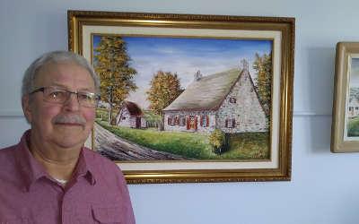 Xavier Barsalou-Duval invite la population à une exposition posthume des œuvres du Maître Ange-Albert Dalpé