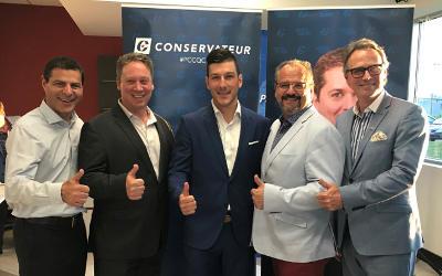 Salle comble et appuis importants pour Mathieu Daviault, candidat du Parti conservateur du Canada dans Pierre-Boucher-Les Patriotes-Verchères