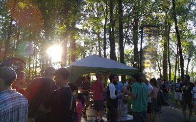 L'Événement MICROS 2e édition: bières et musique en plein air