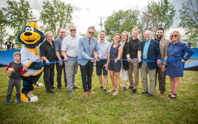 La Ville de Varennes inaugure le premier PumpTrack nouvelle génération au Parc de la Commune