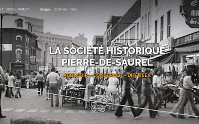 Société historique Pierre-de-Saurel: un nouveau site internet !