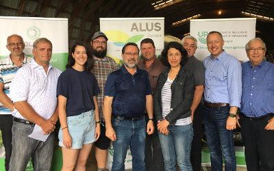 Un nouveau pas vers l'agroenvironnement: la MRC de Pierre-De Saurel se joint à ALUS Montérégie