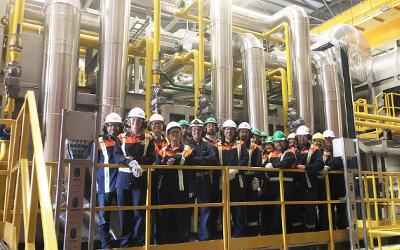 ArcelorMittal: le nouveau four de réchauffe de Contrecoeur-Ouest est officiellement inauguré