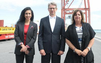 La Banque de l'infrastructure du Canada signe un protocole avec le Port de Montréal pour son projet d'expansion à Contrecoeur