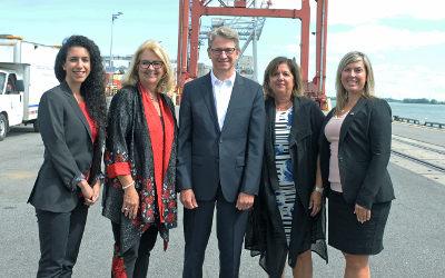 La MRC de Marguerite-D'Youville se réjouie de l'implication de la Banque de l'infrastructure dans le projet du terminal portuaire de Contrecœur!