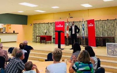 Simon Chalifoux, candidat libéral dans Pierre-Boucher-Les Patriotes–Verchères