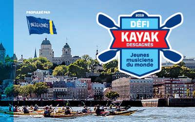 Le Défi kayak Desgagnés s'arrêtera à Verchères et Sorel-Tracy le 15 août