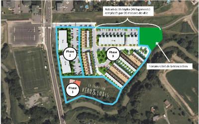 Varennes: développement domiciliaire et protection perpétuelle du parc Saint-Charles