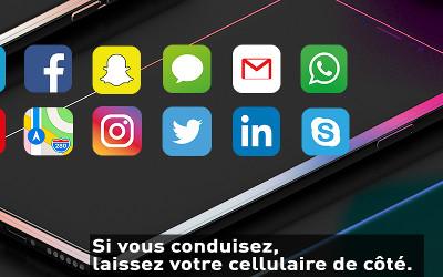 Régie intermunicipale de police Richelieu-Saint-Laurent: si vous conduisez, laissez votre cellulaire de côté