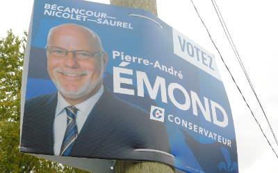 Un bilan de campagne pour Pierre-André Émond, candidat Parti conservateur, Bécancour-Nicolet-Saurel