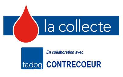 Lundi 23 septembre: Collecte de sang de la FADOQ de Contrecoeur