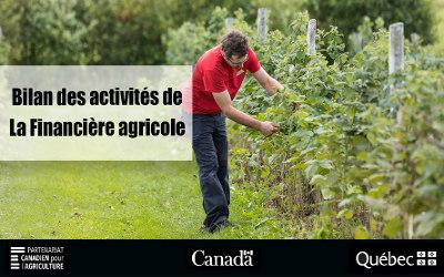 La Financière agricole du Québec en action pour les producteurs de la région de la Montérégie