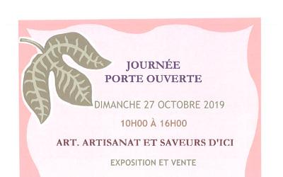Calixa-Lavallée: Journée porte ouverte ARTISANAT, ART, SAVEURS D'ICI
