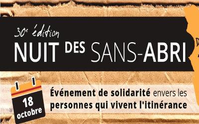 La Nuit des Sans-abri 2019 à Sorel-Tracy