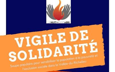 Nuit des sans-abris: Soupe populaire dans le Vieux Beloeil