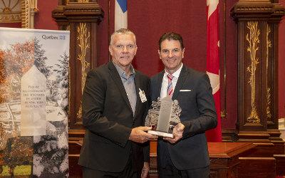 Prix de reconnaissance des bénévoles en matière de véhicules hors route Québec honore M. Robert-Henri Roy et M. Pierre Joncas, lauréats de la région de la Montérégie