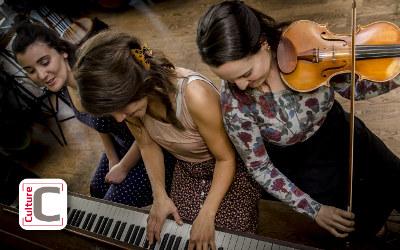 Une présentation de Culture C: Spectacle du trio musical Lilas l'bon temps