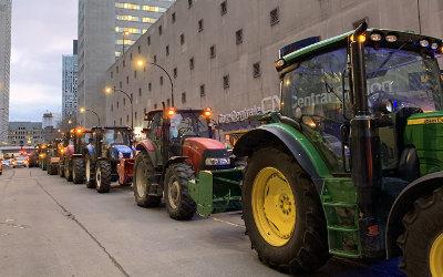 Crise du gaz propane: les agricultrices et les agriculteurs de la Montérégie se mobilisent pour réclamer des solutions immédiates !