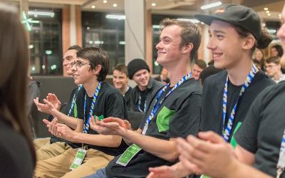 Des étudiants du Cégep de Sorel-Tracy, passionnés du numérique se distinguent en remportant 15 000 $ en prix au Startup Weekend Shawinigan!