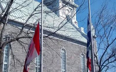 Décès de M. Claude Rompré: la Ville de Saint-Ours met ses drapeaux en berne