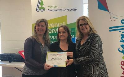 La bibliothèque municipale de Contrecœur a reçu la certification « Bienvenue aux familles »
