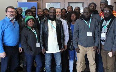 Montérégie: 18 agriculteurs africains et haïtiens en mission agricole et organisationnelle
