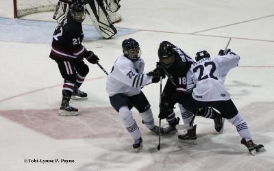 LE JOUEUR DU MOIS DESJARDINS NOVEMBRE-DÉCEMBRE:  Émile Villiard des Rebelles hockey du Cégep de Sorel-Tracy