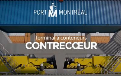 Le Port de Montréal dévoile une nouvelle capsule vidéo sur son projet de Terminal de Contrecoeur