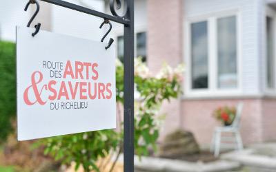 Prolongation: appel de dossiers du volet ARTS de La Route des Arts et Saveurs du Richelieu en 2020!