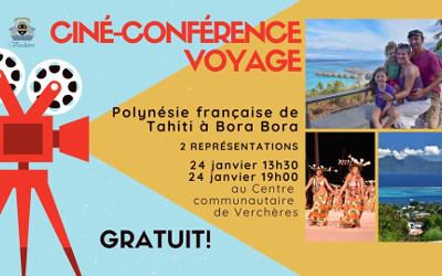 Verchères: Ciné-Conférence voyage