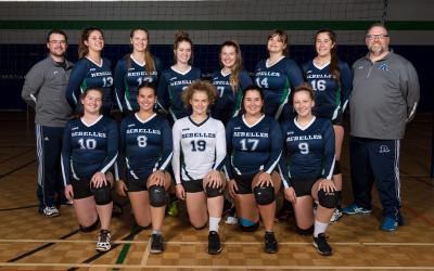Les Rebelles reçoivent le 4e tournoi de la Ligue collégiale de volleyball féminin D2!