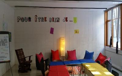 École secondaire Fernand-Lefebvre: le Local du communautaire, un milieu bienveillant!