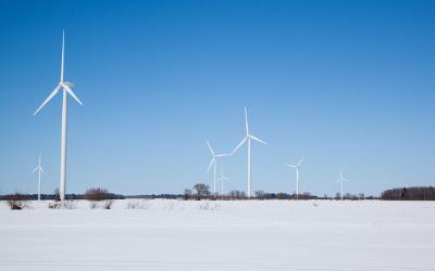 Année 2019: une production d'énergie record pour Parc éolien Pierre-De Saurel