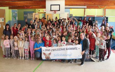 L'École des Moissons de Saint-Théodore-d'Acton grande gagnante du concours « GAGNEZ VOTRE FÊTE DE FIN D'ANNÉE SCOLAIRE »