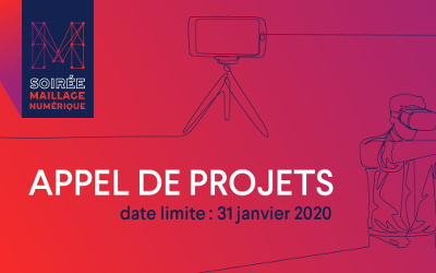 Culture Montérégie: APPEL DE PROJETS POUR LA 3e ÉDITION DE MAILLAGE NUMÉRIQUE