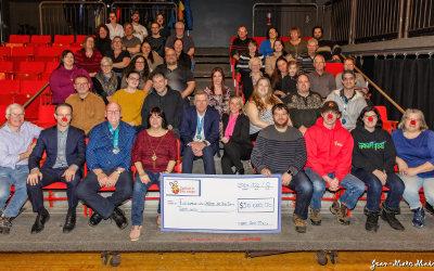 30 000$ pour les 30 ans de l'Opération Nez rouge Sorel-Tracy!
