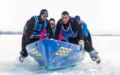 La 6e édition de la Course de canot à glace de Sorel-Tracy arrive à grand pas