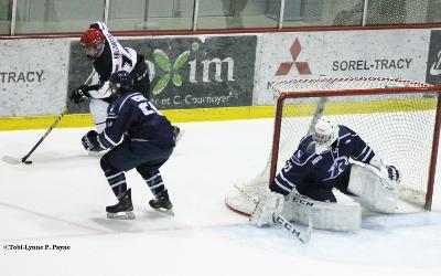 LE JOUEUR DU MOIS DESJARDINS – JANVIER: Jérémy Doucet des Rebelles hockey du Cégep de Sorel-Tracy