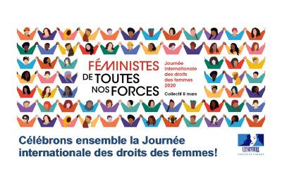 Centre de femmes l'Essentiell: célébrons ensemble la Journée internationale des droits des femmes!