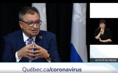 Pandémie de la COVID-19: le gouvernement du Québec en action pour assurer un approvisionnement en équipements médicaux pour traverser la crise