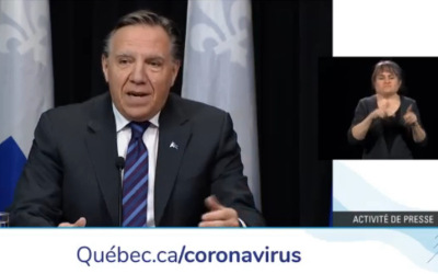Pandémie de la COVID-19:  François Legault annonce la fermeture des commerces le dimanche, à l'exception de certains services essentiels